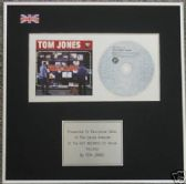 TOM JONES  - CD Album Award - RELOAD